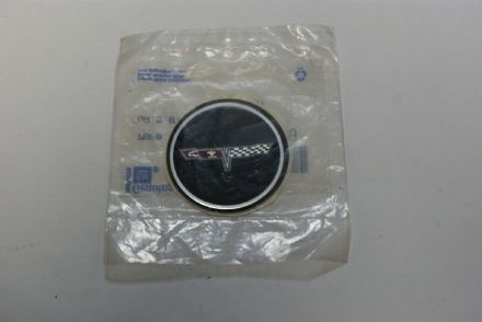 1980-1982 C3 Corvette,Wheel Centre Emblem,GM 14018398,New